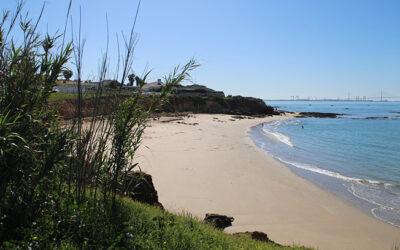 Playa La Calita en Puerto de Santa María (Cádiz)