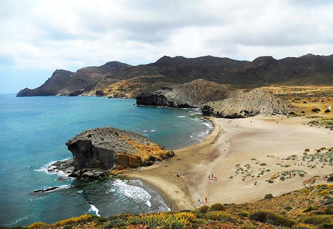 Playas de Andalucía , playas en Huelva, Cádiz, Málaga, Granada y Almería - Cabo de Gata
