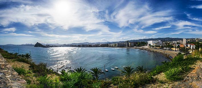 Playas de la Región de Murcia - Playas en La Manga - Playas de la Costa Cálida