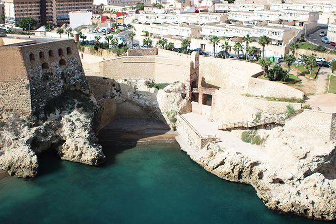 Playas de Ceuta y playas de Melilla