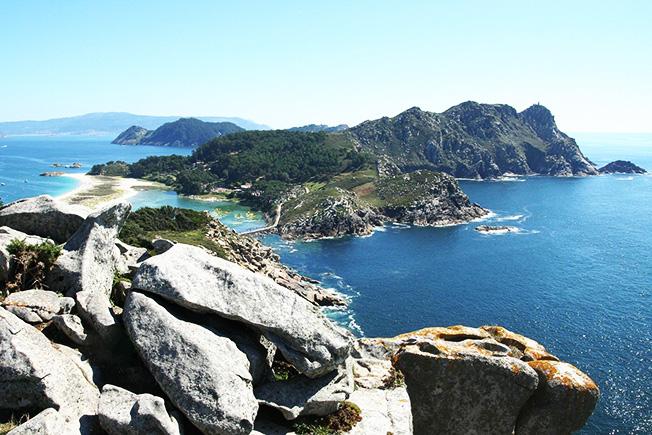 Playas de Galicia - Islas Cíes - Playa de Rodas