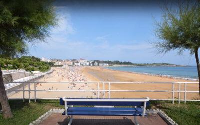 Playa de El Sardinero en Santander (Cantabria)