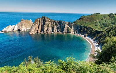 Playa del Silencio en Cudillero (Asturias)