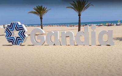 Playa de Gandía (playas para ir con niños en Valencia)