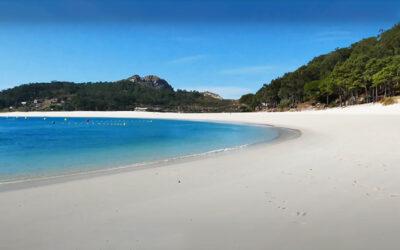 Playa de Rodas en Islas Cíes (Pontevedra)