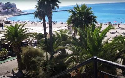 Playa de la Ribera en Ceuta
