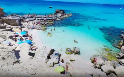 Playa Caló D'Es Morts en Formentera