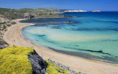 Playa Cavalleria en Es Mercandal (Menorca)