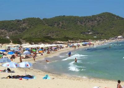 Las mejores playas de Ibiza - Playa Es Cavallet