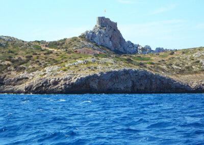 Las mejores playas de la Isla de Cabrerar - Playa Espalmador o Platja s'Espaumador