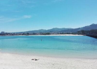 Las mejores playas gallegas con Bandera Azul - Playa O Vao (Surf, navegación, juvenil)