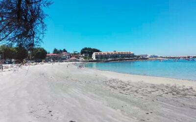 Playa O Vao o Del Vao en Vigo (Pontevedra)