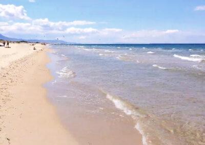 Playas para ir con niños en Valencia - Playa Aigua Morta en Oliva