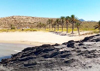 Descubre la bonita playa de Percheles en Mazarrón (Costa Cálida)