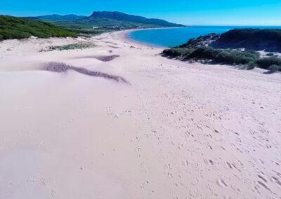 Las mejores playas de Cádiz - Playa de Bolonia en Tarifa