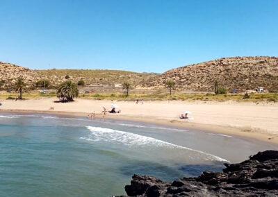 Las mejores playas de la Regio de Murcia - Playa de Percheles (Mazarrón)