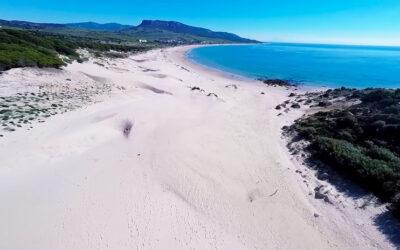 Playa de Bolonia en Tarifa (Cádiz)