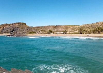 Playa de Percheles en Mazarrón es un rincón fantástico para veranear