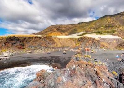 Las mejores playas de La Palma - playa de El Charco Verde