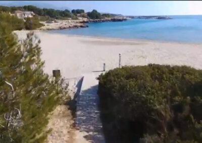 Las mejores playas en la Costa Dorada - Cala de Sant Jordi