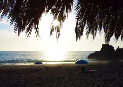 Playa de El Charco Verde en Los Llanos de Aridane - Atardecer de ensueño