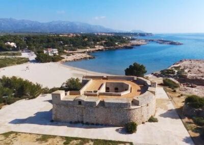 Playa de Sant Jordi en L'Ametlla de Mar (Tarragona)